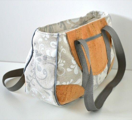 Makerist - Handtasche mit Kork - Nähprojekte - 3