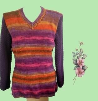 Makerist - Pullover mit Farbverlauf - Etwas Besonderes für jede Gelegenheit - 1