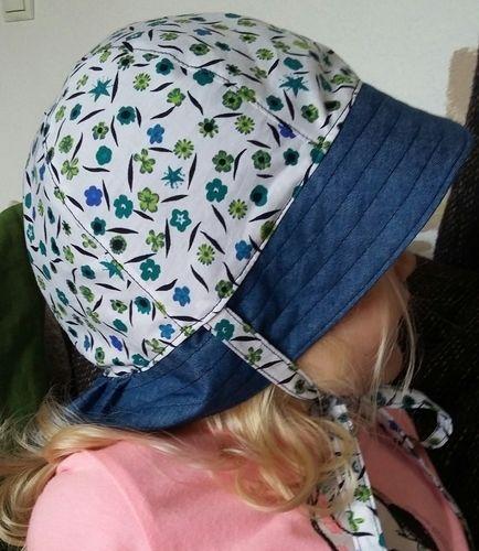 Makerist - Mädchen-Sonnenhut zum Wenden - Nähprojekte - 2