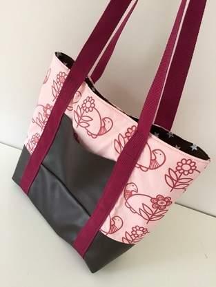 Makerist - Meine erste Svea Handtasche  - 1