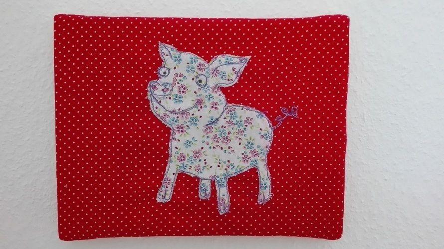 Makerist - Schweini - Malen mit der Nähmaschine - Nähprojekte - 1