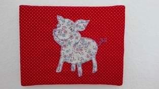 Schweini - Malen mit der Nähmaschine