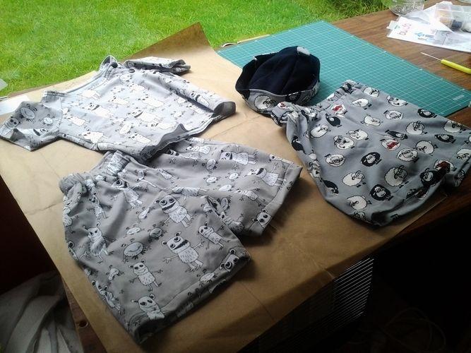 Makerist - la petite panoplie pour les vacances pour baby Eliot - Créations de couture - 1