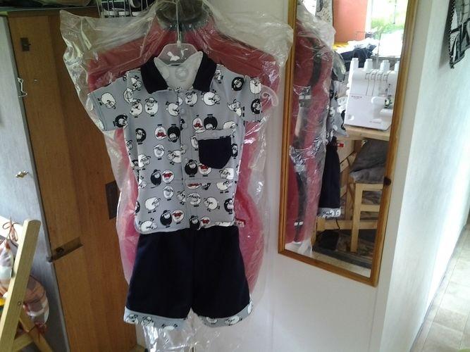 Makerist - la petite panoplie pour les vacances pour baby Eliot - Créations de couture - 2