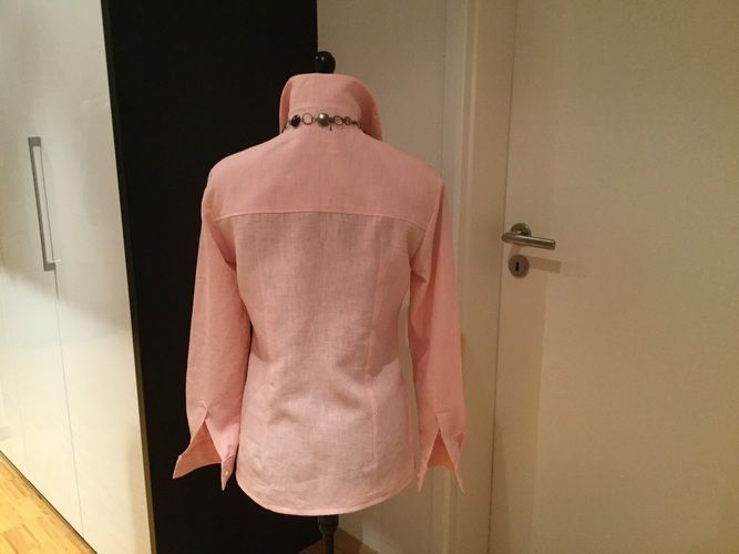 Makerist - Bluse aus Leinenstoff - Nähprojekte - 2