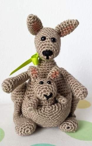 Makerist - Känguruh Mama mit Baby - 1
