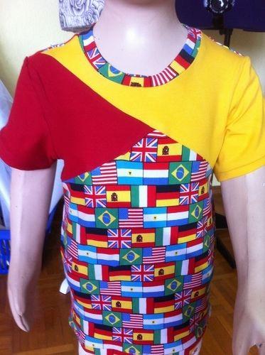 Makerist - T-Shirt  International    für meinen Enkel - Nähprojekte - 1