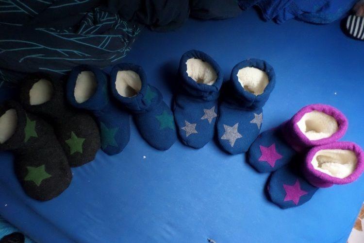 Makerist - Warme Füße - Nähprojekte - 1
