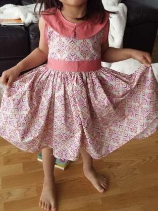 Makerist - Robe Lorell 4 ans - 1