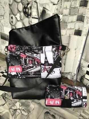 Makerist - Foldovertasche mit passendem Portemonnaie  ❤️ - 1