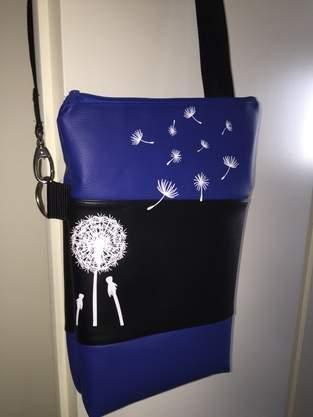 Makerist - Fold over Umhängetasche aus Kundtleder und Plotterdatei - 1