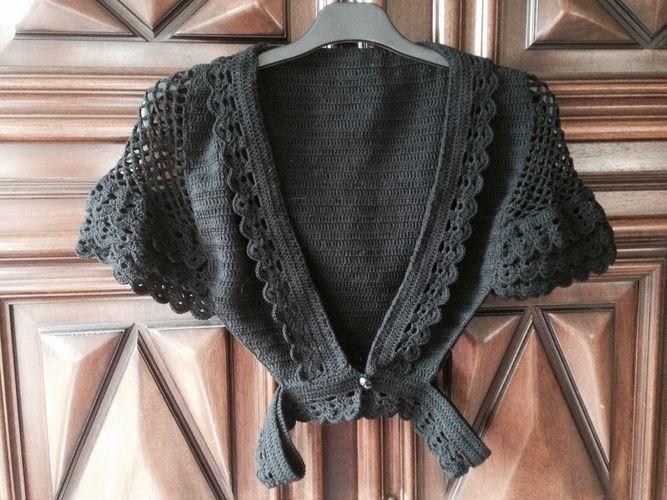 Makerist - boléro au crochet - Créations de crochet - 1