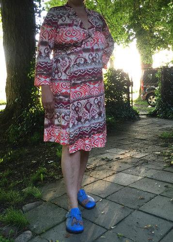 Makerist - Wickelkleid für den Übergang - Nähprojekte - 1