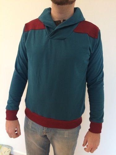 Makerist - Männer-Pullover - Nähprojekte - 1