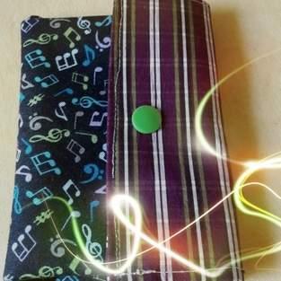 Makerist - Kleine Geldbörse aus Baumwolle für meine Tochter  - 1