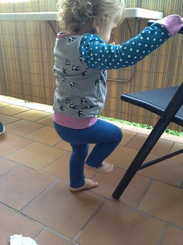 """Makerist - Cardigan ROM für Kinder aus BW Jersey """"Beautiful Smallow"""" für  - Nähprojekte - 3"""