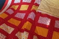 Makerist - Eine Kuscheldecke aus Baumwollstoffen für meine Enkeltochter Salome - 1