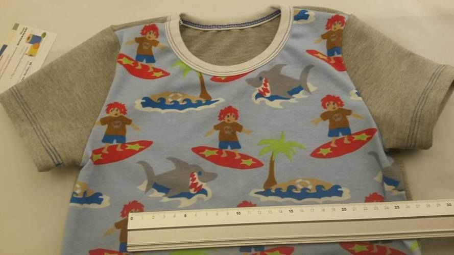 Makerist - summer Shirt für Kinder  - Nähprojekte - 3