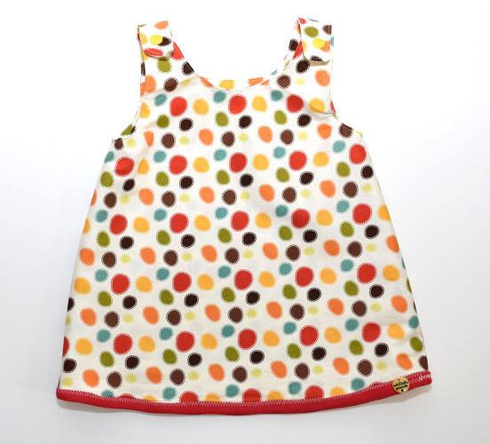 Makerist - Sommer-Kleidchen Pünktchen  - Nähprojekte - 1