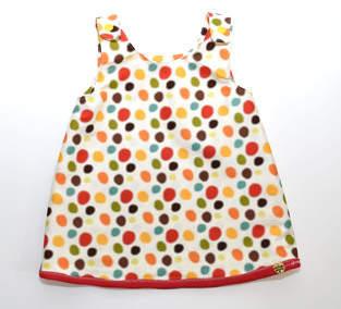 Sommer-Kleidchen Pünktchen