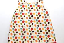 Makerist - Sommer-Kleidchen Pünktchen  - 1