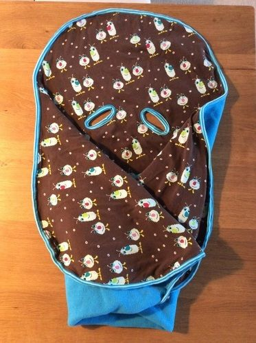 Makerist - Decke für die Auto Babyschale für meinen Sohn - Nähprojekte - 1