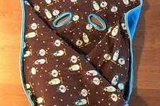 Makerist - Decke für die Auto Babyschale für meinen Sohn - 1