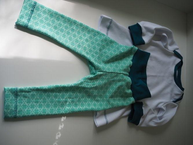 Makerist - Kleeblatt Jersey Set - Mädchen Gr. 74 - Strickprojekte - 3