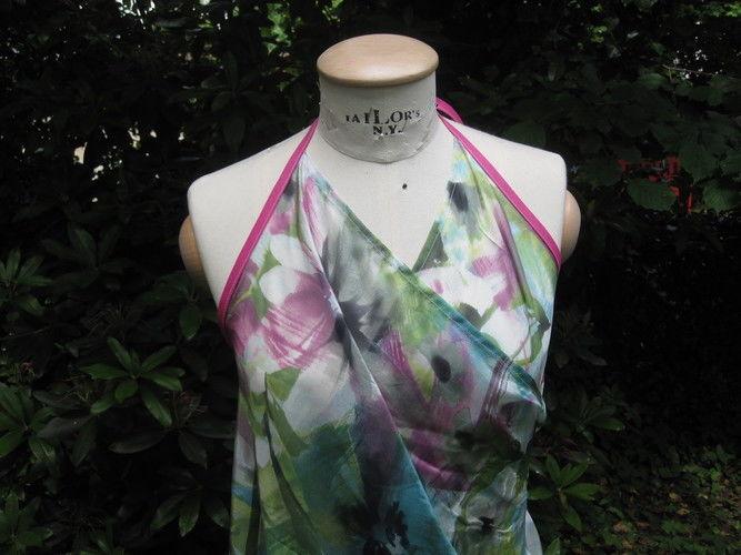 Makerist - ein ganz einfaches Wickelkleid - Nähprojekte - 2