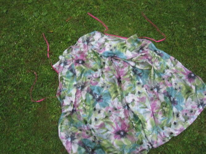 Makerist - ein ganz einfaches Wickelkleid - Nähprojekte - 3