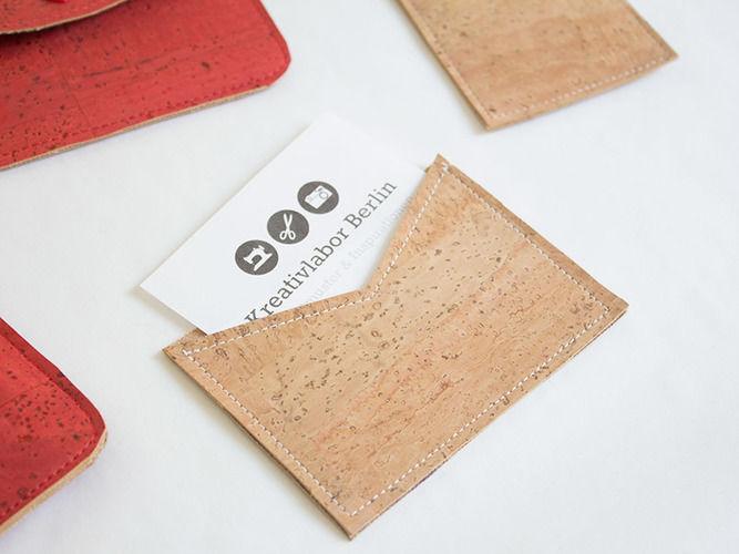 Makerist - Visitenkarten-Etui aus Kork - Nähprojekte - 1