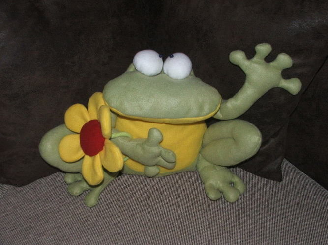 Makerist - Froschkönig - Nähprojekte - 1