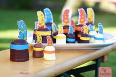 Makerist - Schaumkuss-Indianer für den Kindergeburtstag - 1