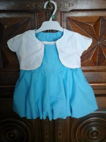 Makerist - robe bulle   bebe 3 mois   ; orchidee  en 3 ans ; brunette en 5 ans - Créations de couture - 1