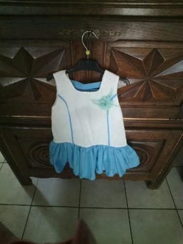 Makerist - robe bulle   bebe 3 mois   ; orchidee  en 3 ans ; brunette en 5 ans - Créations de couture - 3