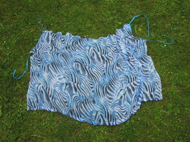Makerist - blauer Animal-Print - Nähprojekte - 3