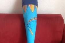 Makerist - Drachenschultüte Stoff für meinen Sohn - 1