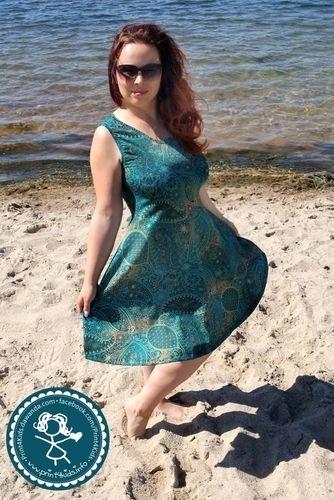 Makerist - Herzkleid ein Traumkleid für mich aus Jersey - Nähprojekte - 2