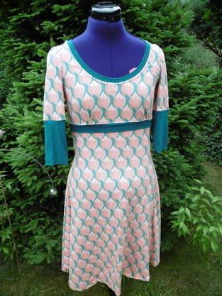 Beschwingtes Kleid, aus Jersey, für mich genäht