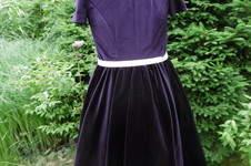 Makerist - Petticotkleid, aus Samt, für mich (als Probekleid) - 1