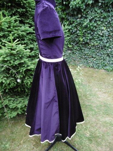 Makerist - Petticotkleid, aus Samt, für mich (als Probekleid) - Nähprojekte - 2