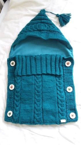 Makerist - Baby-Schlafsack, mein erstes großes Strickprojekt - Nähprojekte - 1