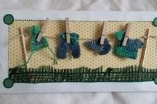 Makerist - Glückwunschkarte zur Geburt - 1