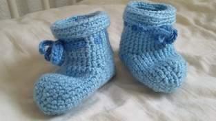Makerist - Für warme Babyfüße - 1
