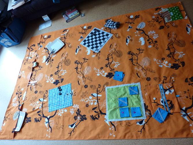 Makerist - Picknickdecke mit Spielen - Nähprojekte - 1