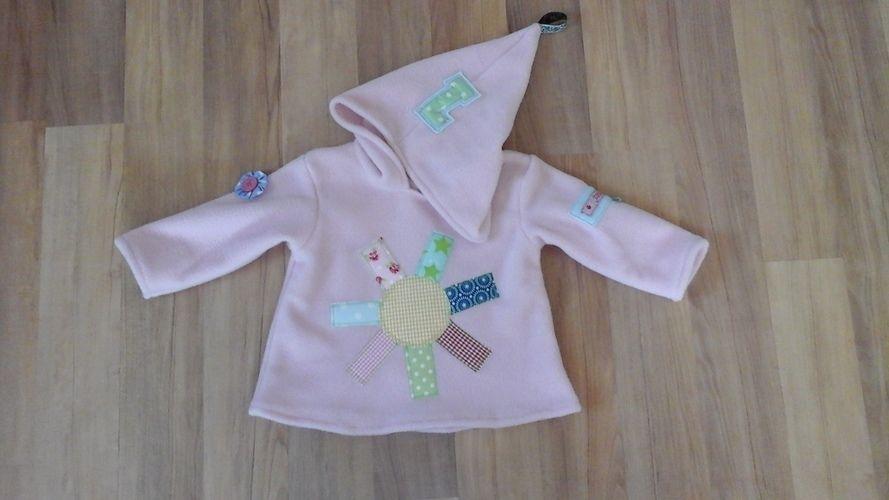 Makerist - Baby Fleecepullover - Nähprojekte - 1