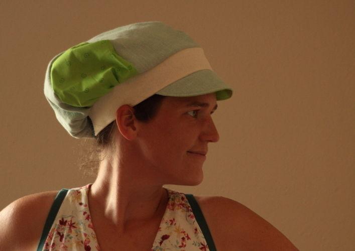 Makerist - Ballonmütze Käpt´n Kukka grün - Nähprojekte - 2