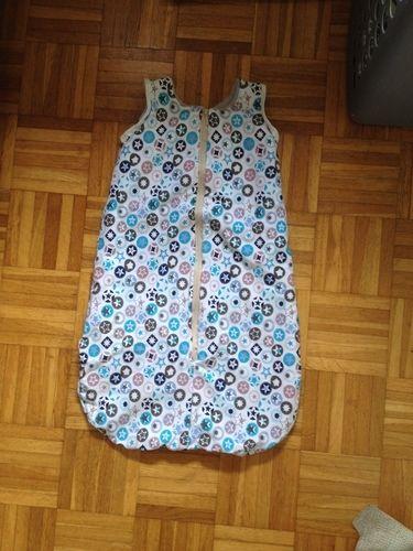 Makerist - Schlafsack für den Winter aus Jersey und alpenfleece.  - Nähprojekte - 1