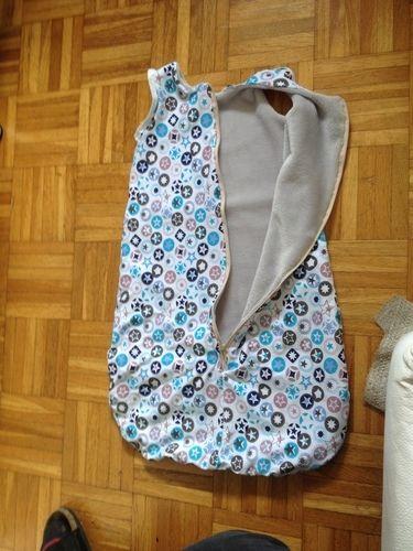 Makerist - Schlafsack für den Winter aus Jersey und alpenfleece.  - Nähprojekte - 2