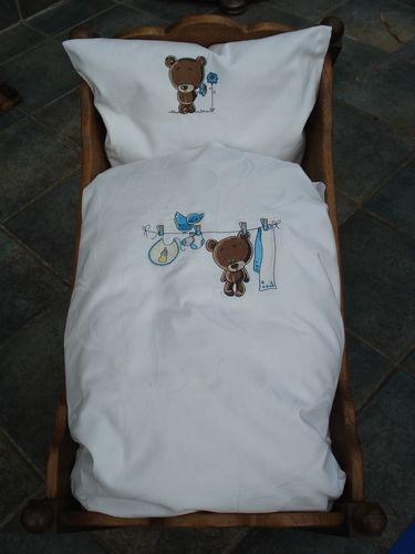Makerist - Baby-Bettwäsche 'Teddybär' - Textilgestaltung - 1
